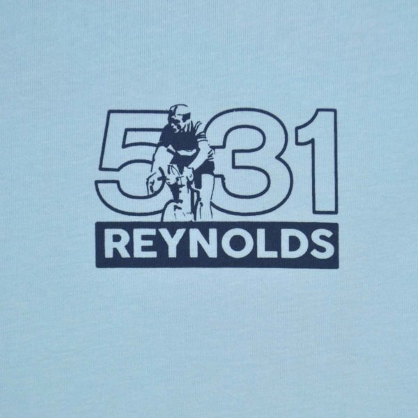 Reynolds 531 Travel Light T-Shirt Sky Blue
