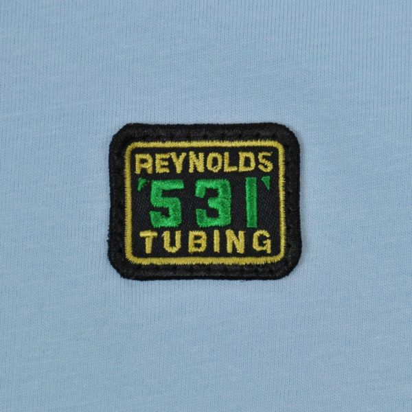 Reynolds 531 Badge T-Shirt Sky Blue