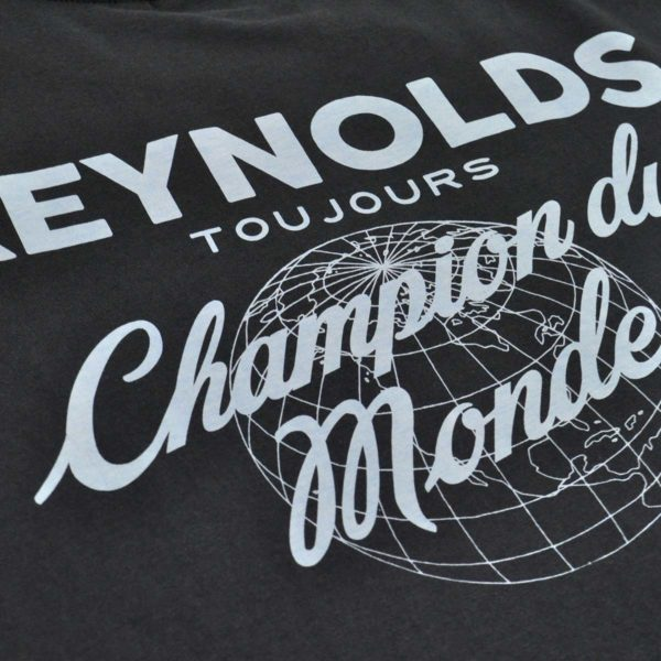 Reynolds Champion Du Monde T-Shirt Navy